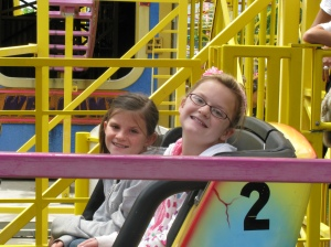 Hayley & Syd on the Wild Mouse