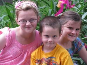 Cute kids at Lagoon